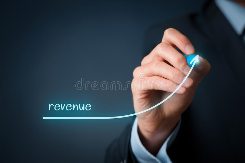 Revenue royalty free stock images
