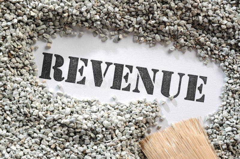 Download Revenue -- Treasure Word Series Stock Photo - Image: 28457090