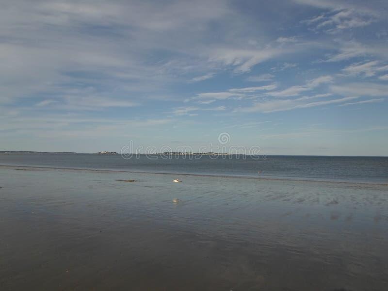 Revere пляж, Revere, Массачусетс, США стоковая фотография