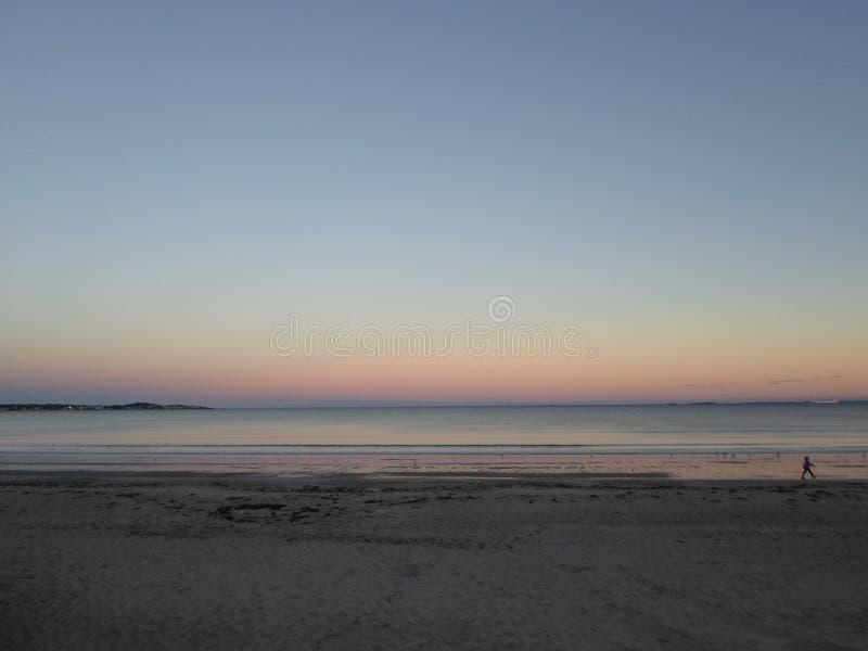 Revere пляж, Revere, Массачусетс, США стоковое изображение