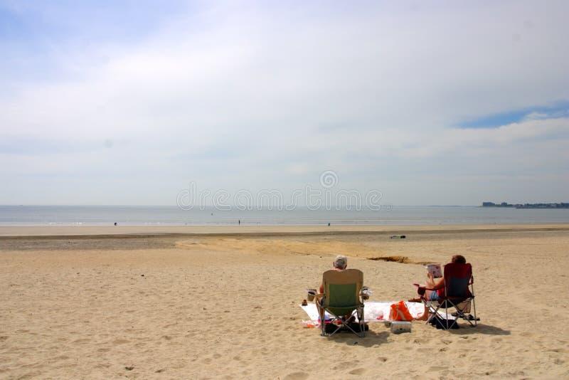 Revere пляж, Бостон, США стоковые фотографии rf