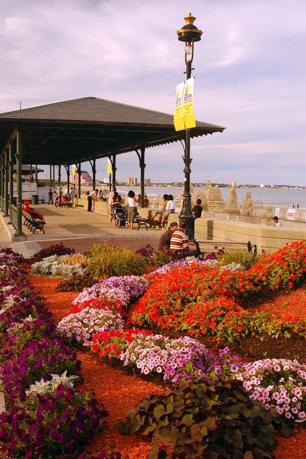 Revere пляж Pavillion, Бостон стоковые фотографии rf