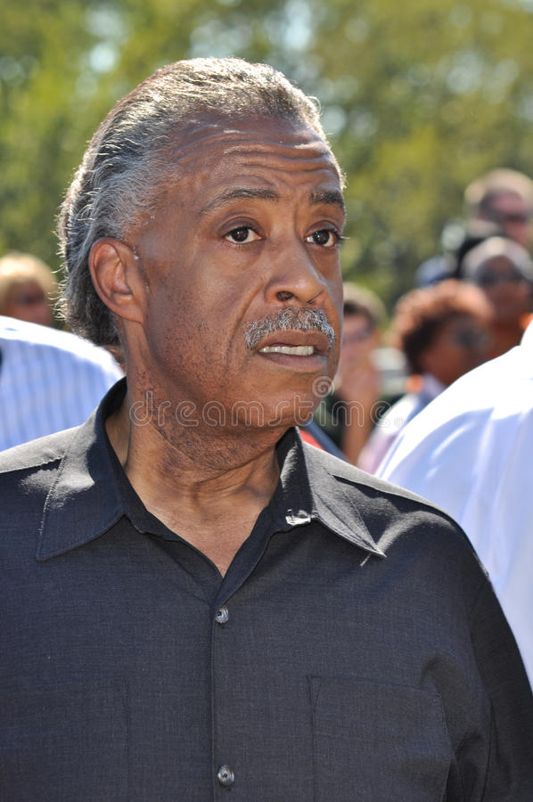 Download Reverend Al Sharpton editorial photography. Image of leader - 16321347