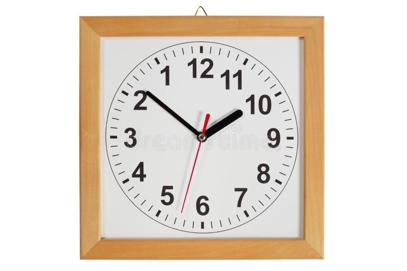 Reverse clock stock image
