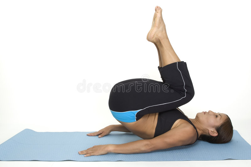 Download Reverse Crunch 2 stock image. Image of lycra, demonstrate - 120733