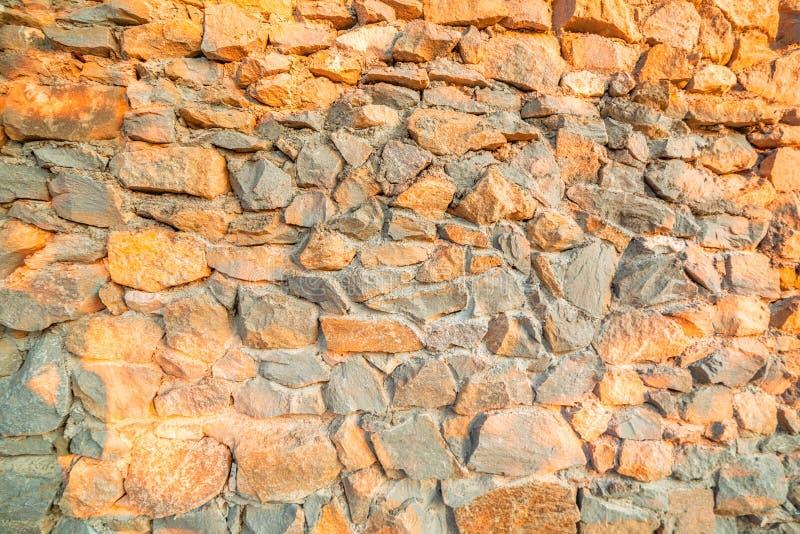 Revestimento da parede com alvenaria imagens de stock