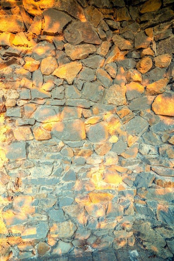 Revestimento da parede com alvenaria foto de stock
