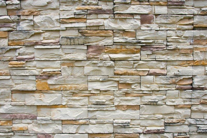Revestimento da parede de pedra foto de stock
