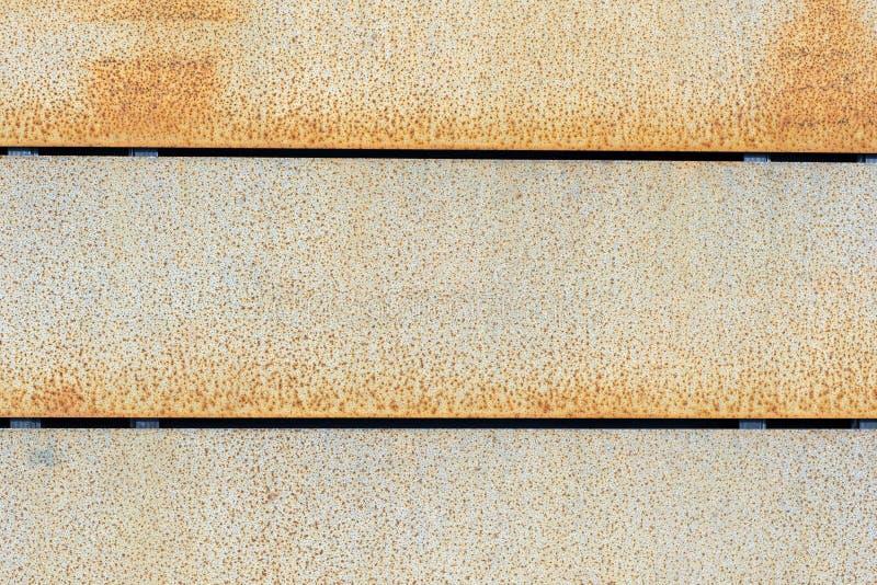Revestimento de aço da parede de Corten fotografia de stock royalty free