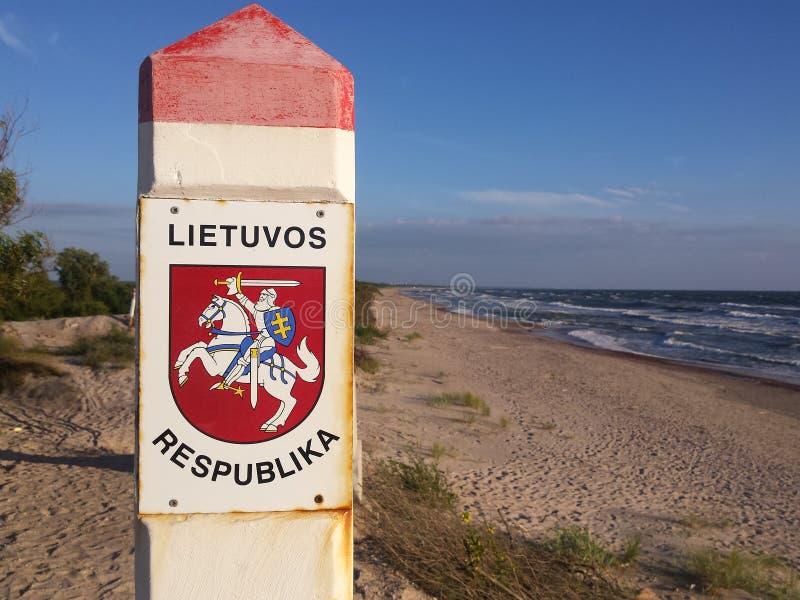 Revestimento de braços de Lithuania imagem de stock royalty free