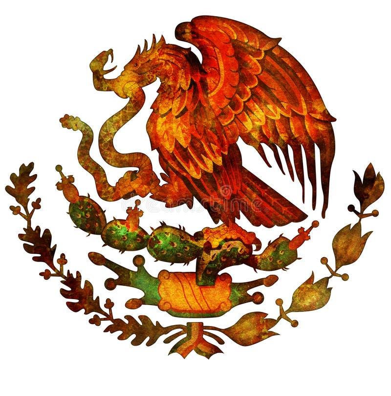 Revestimento de México de braços ilustração stock