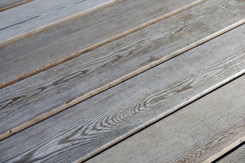 Revestimento de madeira, vista lateral Assoalho de madeira como o fundo fotografia de stock
