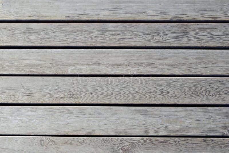 Revestimento de madeira, vista superior Assoalho de madeira como o fundo fotografia de stock