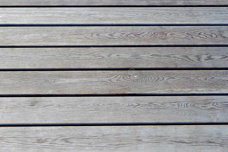 Revestimento de madeira, vista superior Assoalho de madeira como o fundo foto de stock
