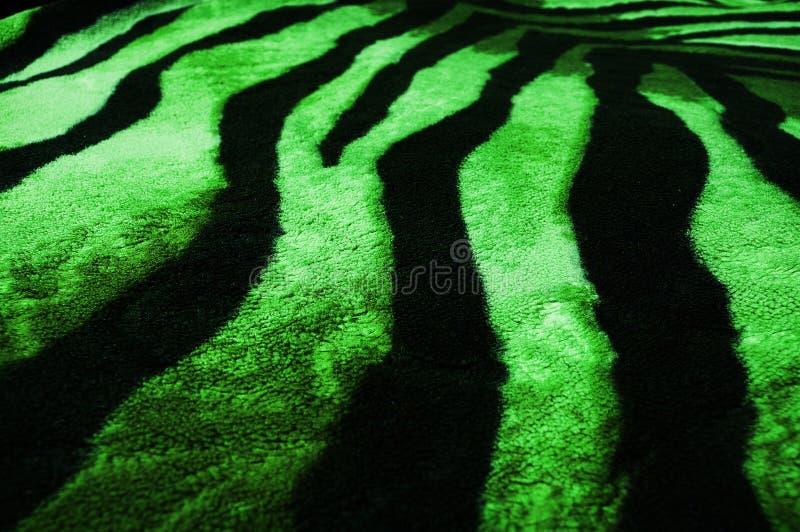 Revestimento verde de lãs imagem de stock