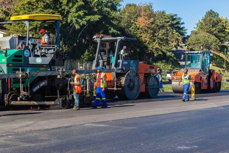Revestimiento de carreteras Asphalt Tar de la carretera foto de archivo libre de regalías