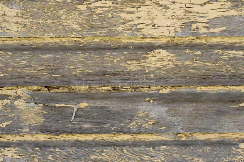 Revestimiento de madera resistido de la nave fotografía de archivo