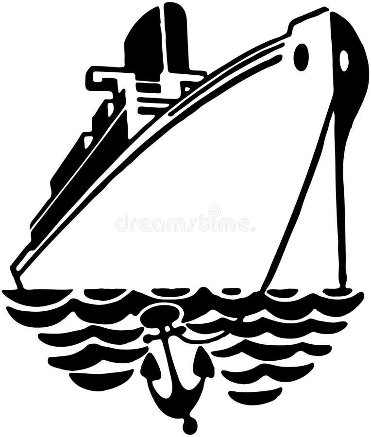 Revestimiento marino 2 ilustración del vector