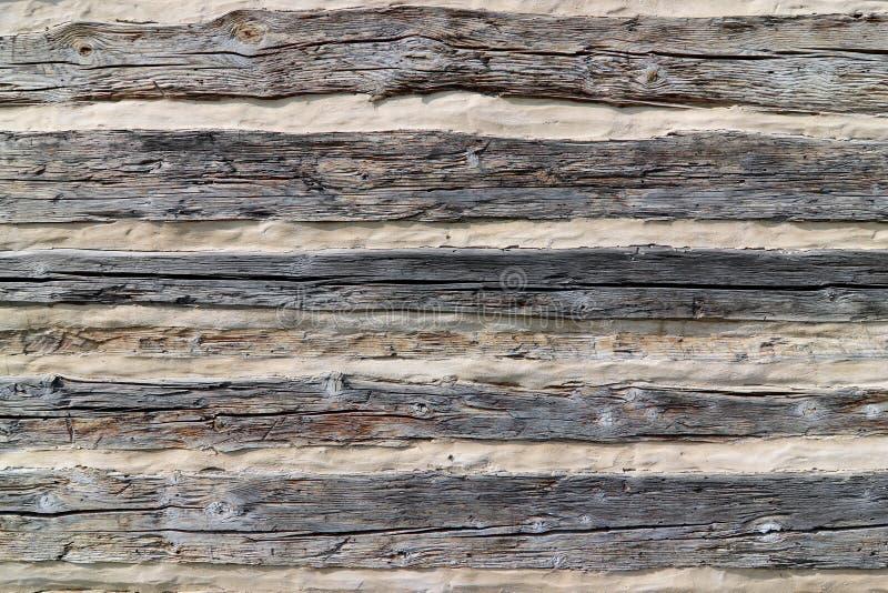Revestimiento - pared de una cabaña mitad-enmaderada imagen de archivo libre de regalías