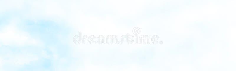 revestimiento sobre la pintura del watercolour de la nube foto de archivo libre de regalías