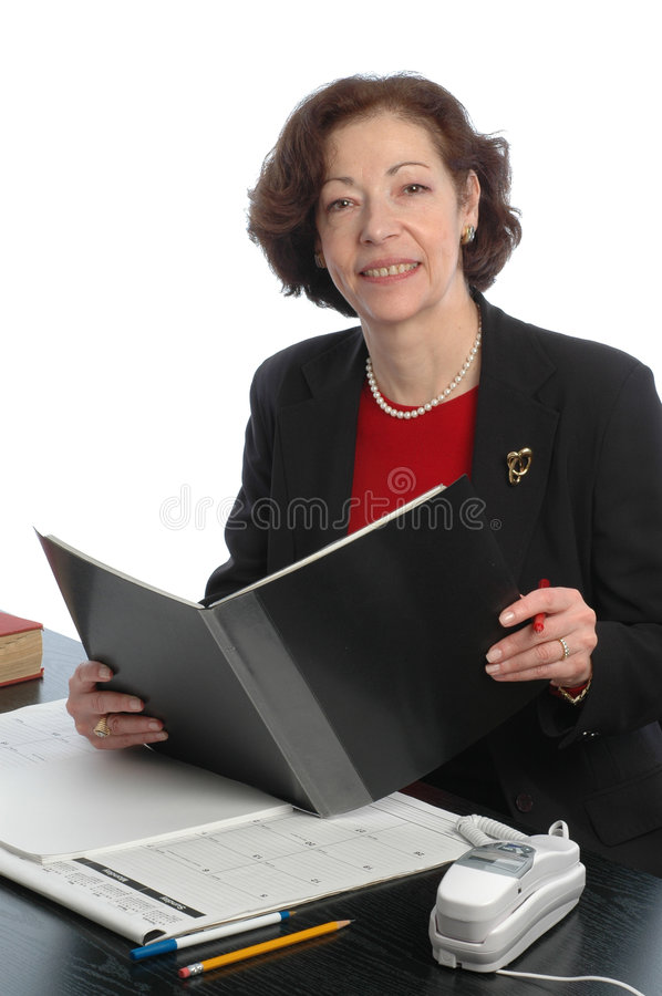 senior female business corporate executive in off royalty free stock image