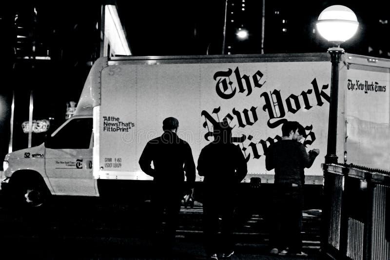Revista de tiempos de NY - New York Times fotografía de archivo
