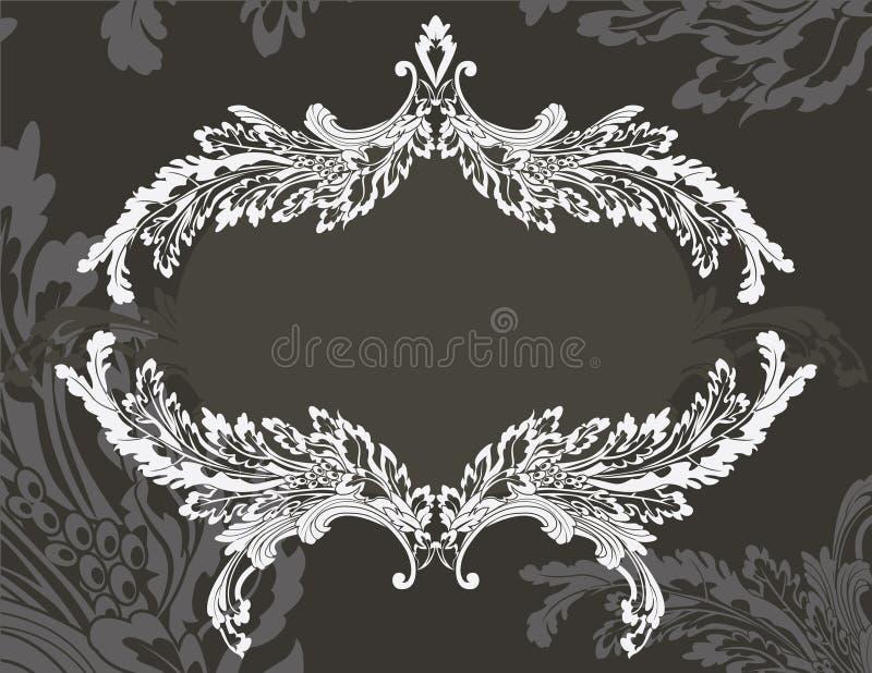 Download Revival Ornate Frame Stencil Stock Vector - Illustration: 15172042