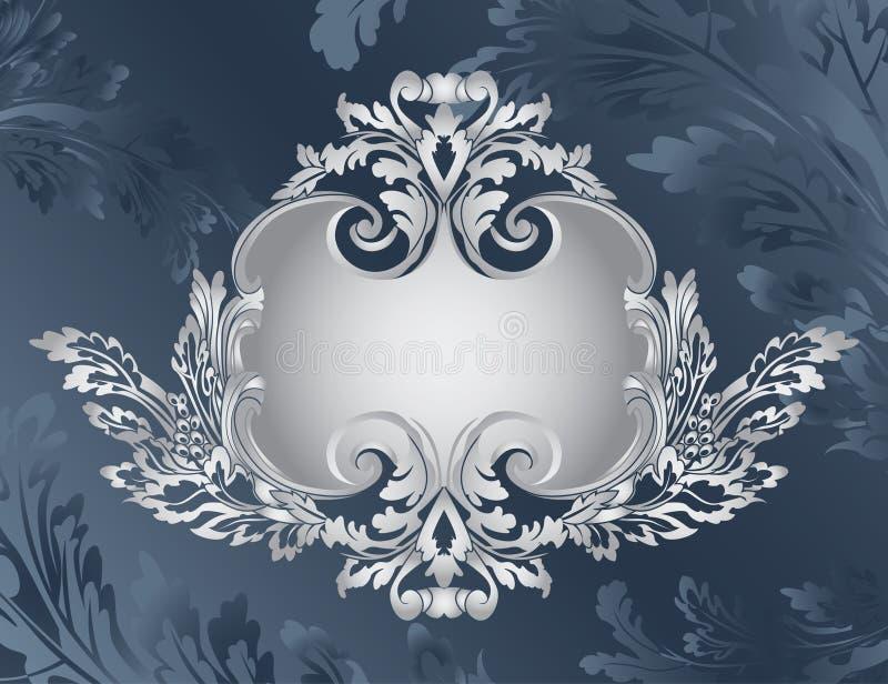 Download Revival Ornate Frame Stencil Stock Vector - Image: 15955750