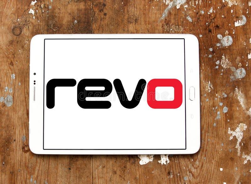 Revo företagslogo royaltyfri bild