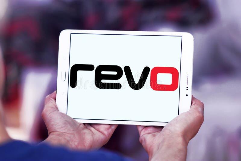 Revo företagslogo royaltyfri fotografi