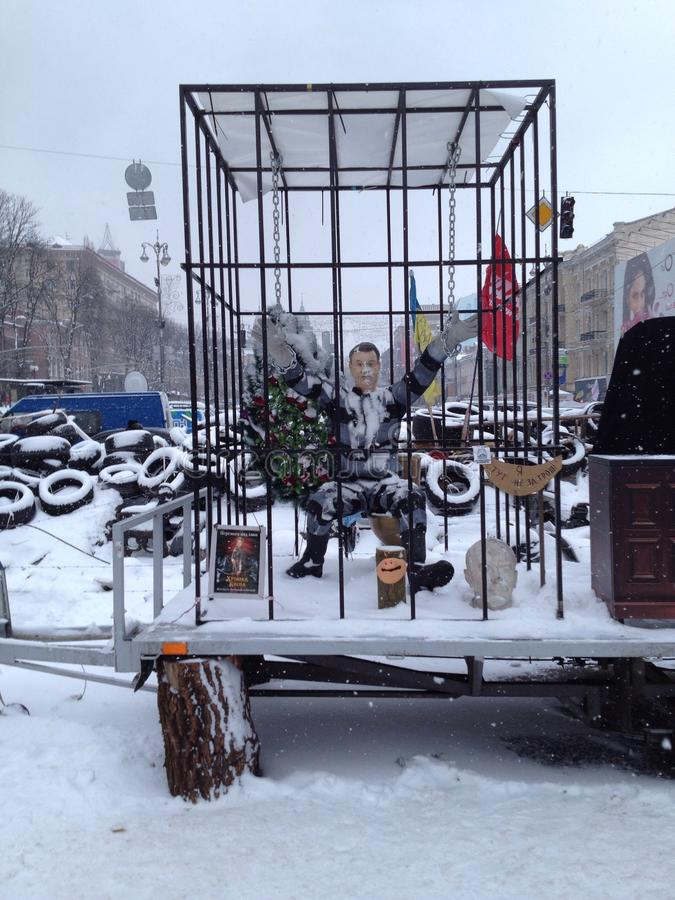 Revolução de Ucrânia fotos de stock