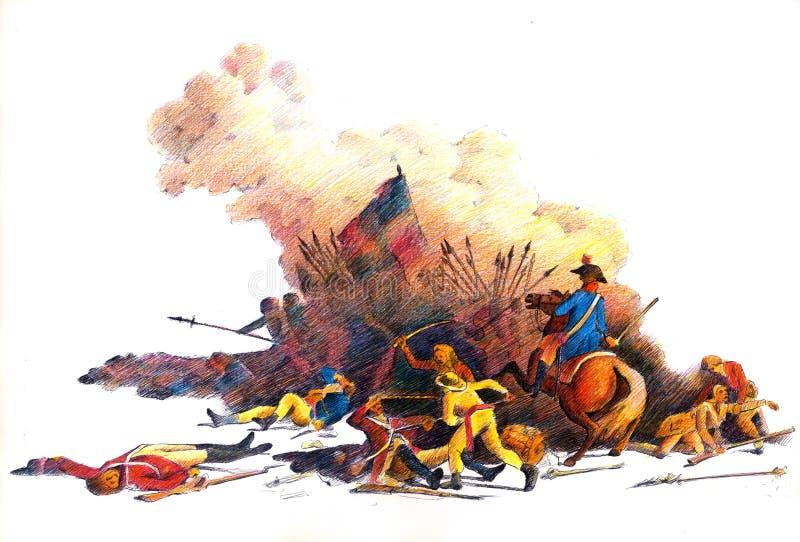 Revolução Francesa ilustração do vetor