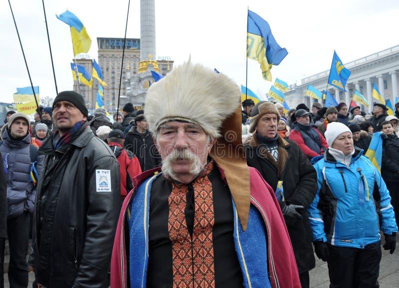 Revolución Advantages_94 de Kyiv Maidan foto de archivo