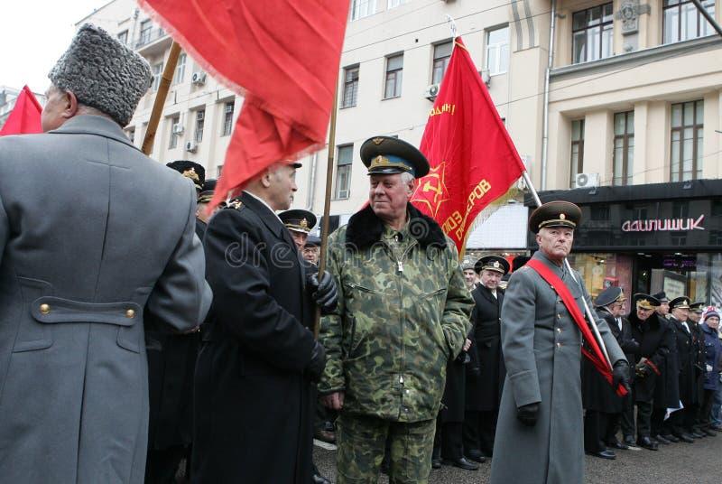 Revolución rusa foto de archivo