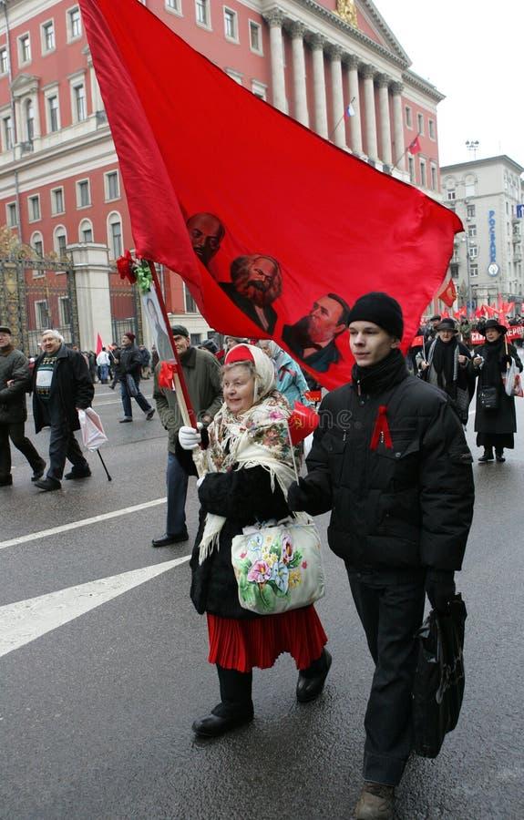 Revolución rusa fotografía de archivo