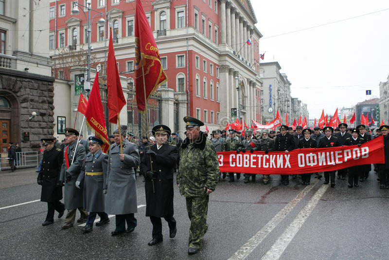 Revolución rusa fotos de archivo libres de regalías