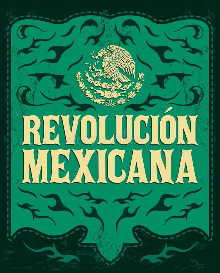 Revolucion Mexicana - μεξικάνικη επανάσταση ισπανικά ελεύθερη απεικόνιση δικαιώματος