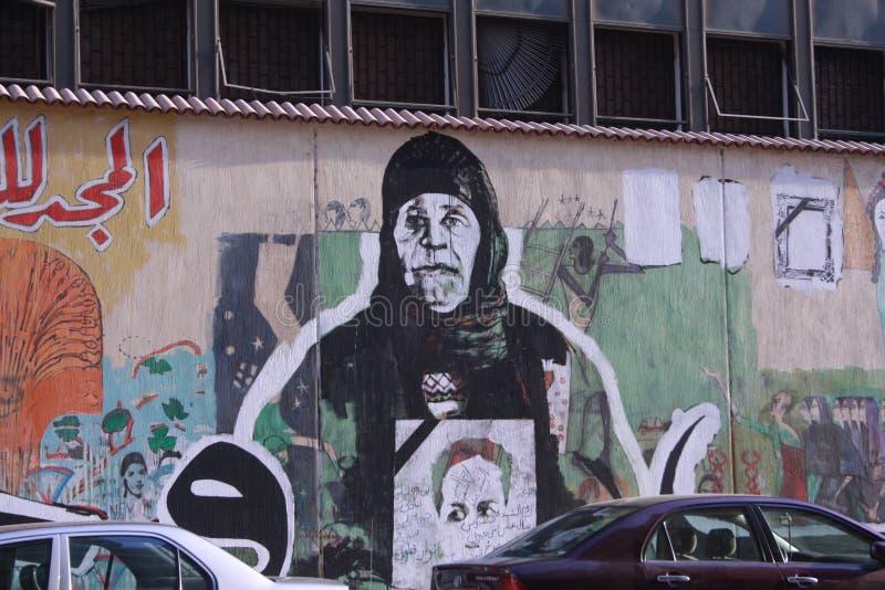 Revolution Graffiti stock image