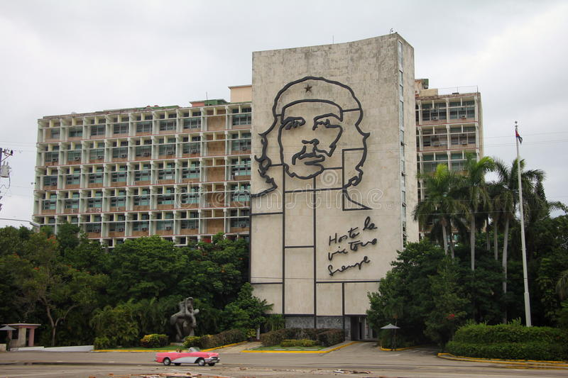 Revolution Square Cuba. Revolution Square is a square in Havana, Cuba. The Plaza is 31st largest city square in the world (largest city squares), measuring 72 royalty free stock photography