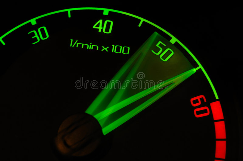 Revolution Tachometer Royalty Free Stock Image