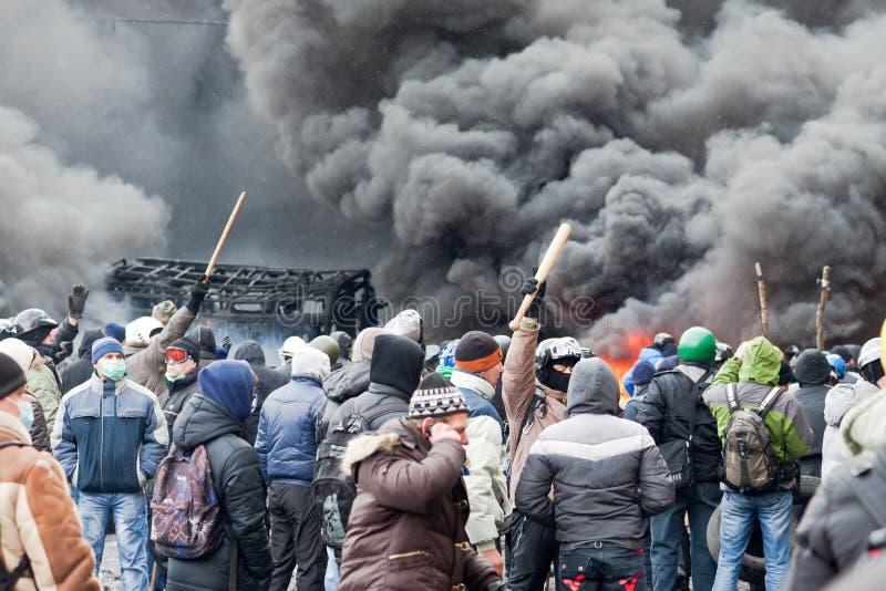 Revolution in Ukraine. lizenzfreie stockfotografie