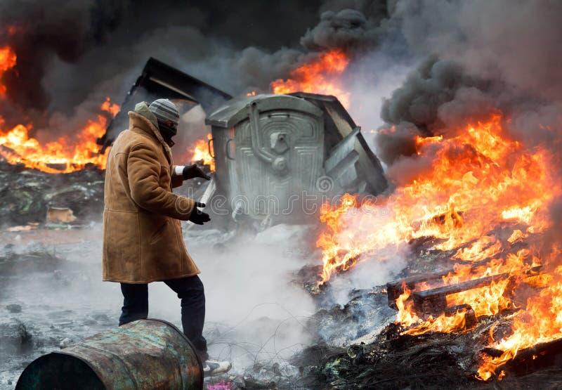 Revolution in Ukraine. lizenzfreies stockbild