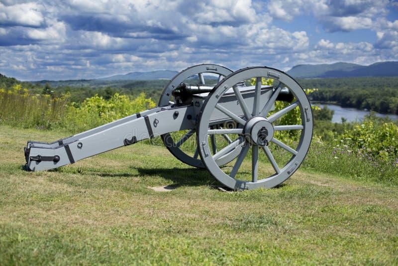 Revolutionair kanon stock afbeelding
