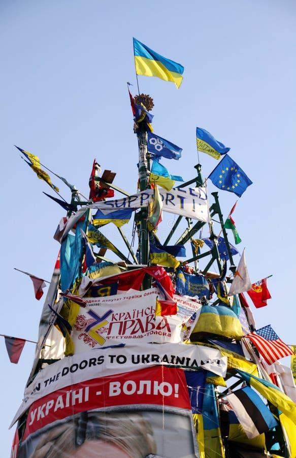 Revolutionaire Kerstboom stock afbeelding