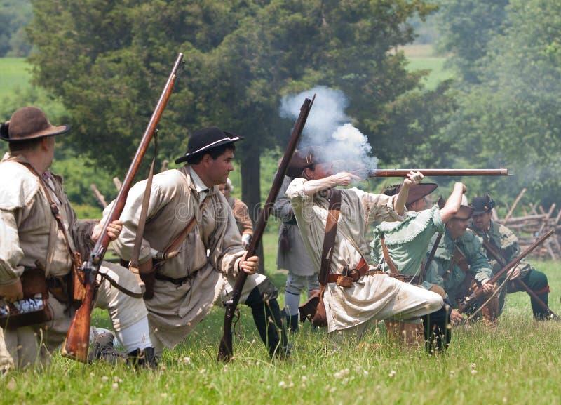 Download Revolutionary War Reenactment Editorial Stock Image - Image: 9995449