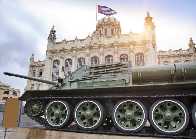 Revolutions-Museum kuba havana stockbild