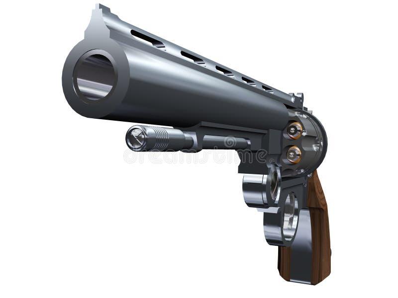 Revolver vector illustratie