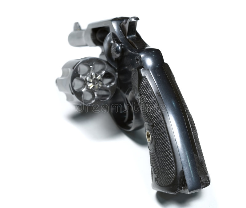 Download Revolver stock photo. Image of firearm, revolver, isolated - 547222