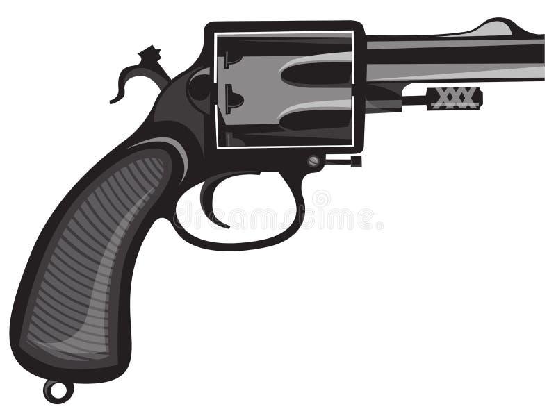 Revolver stock abbildung