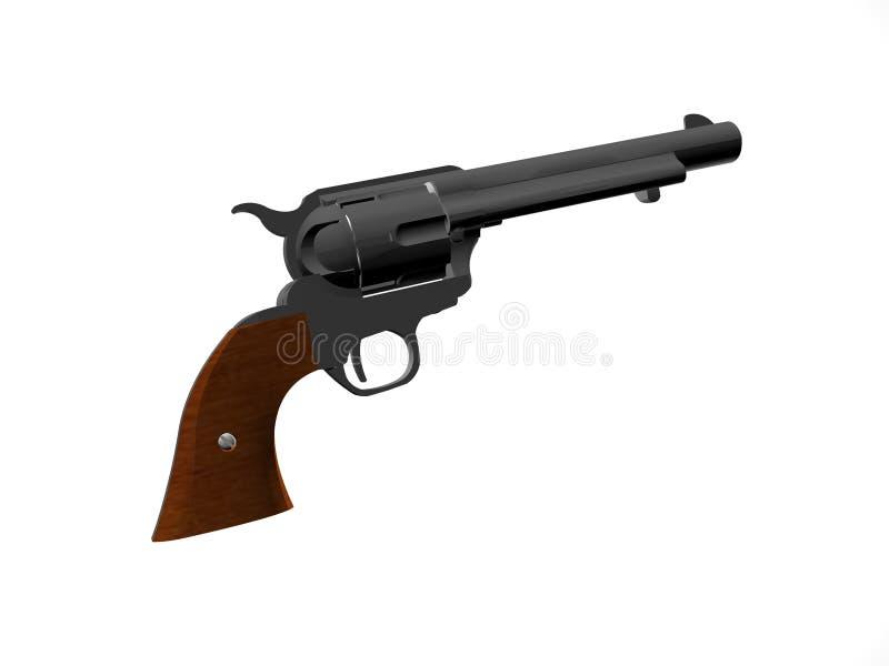 Revolver Ancien Photographie stock